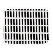 Artek - Siena Tablett 43x44cm - schwarz-weiß