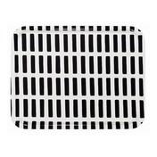 Artek - Siena Tablett 43x33cm - schwarz-weiß