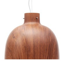 Kartell - Bellissima Suspension Lamp Wood Colour