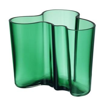 iittala - Alvar Aalto Vase 120mm - smaragdgrün