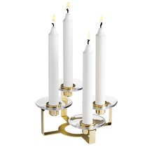 Holmegaard - Lumi Candle Holder 4-armed