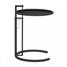 ClassiCon - Adjustable Table E 1027 Beistelltisch schwarz