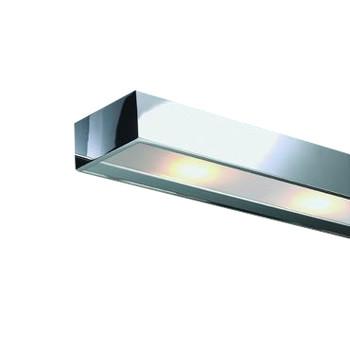 Decor Walther - Box 1-25 LED Spiegelaufsteckleuchte - chrom/glänzend/LxBxH 25x10x5cm/3000K/475lm