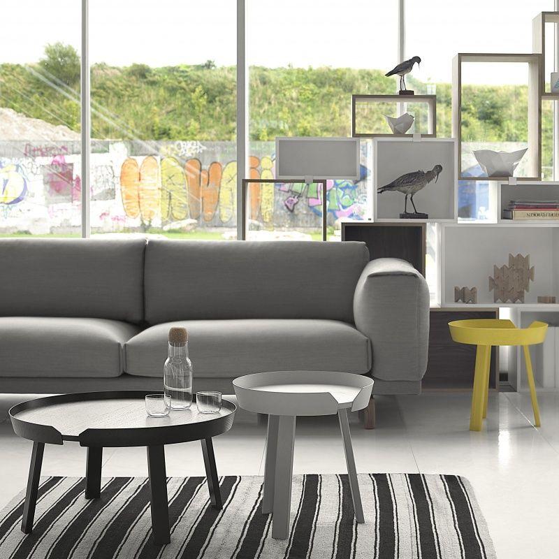around beistelltisch gro muuto. Black Bedroom Furniture Sets. Home Design Ideas