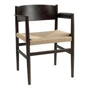 Mater - Chaise avec accoudoirs Nestor