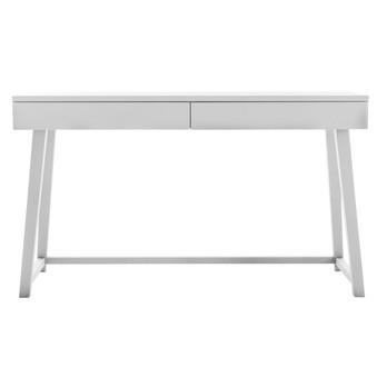 Gervasoni - Gray 50 Schreibtisch 130x75x45cm - nussbaum weiß/lackiert