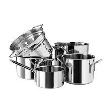 Eva Solo - Promotion Set Eva Solo Cooking Pot Set Of 5