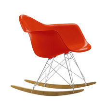 Vitra - Eames Plastic Armchair RAR Schaukelstuhl Chrom