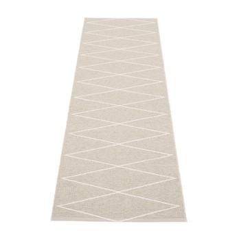 pappelina - Max Teppich 240x70cm - leinen/vanille/wendbar/gewebt/Kante geschweißt/für Innen- und Außenbereich geeignet