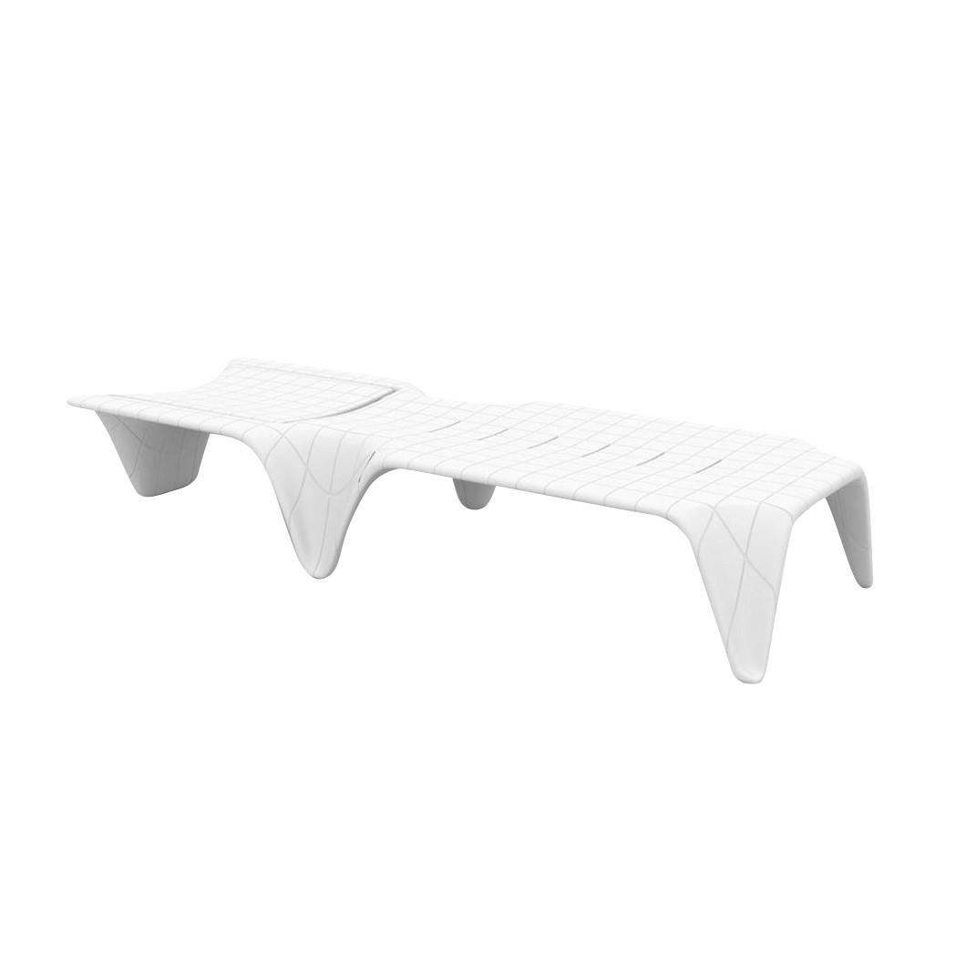 Vondom f3 sunchair white