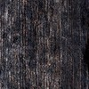 Nanimarquina - Noche Teppich - schwarz/Jute/200x300cm