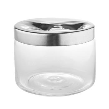 Alessi - Carmeta Keksdose - edelstahl/glänzend poliert/H 15cm, Ø 19cm