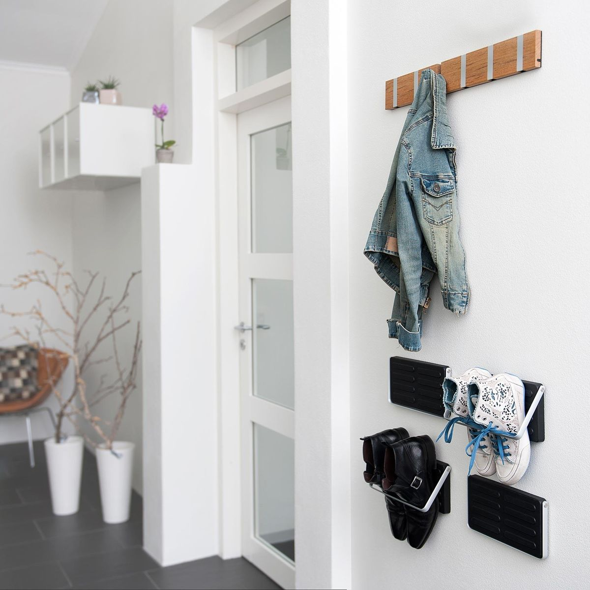 KNAX - Wand Kapstok 6 Haken : LoCa : Garderobe u0026 Haken : Gang ...