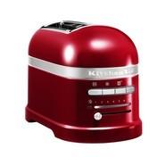 KitchenAid - Artisan 5KMT2204 Toaster 2 Scheiben - liebesapfelrot/lackiert/inkl. 1 Sandwichzange/LxBxH 33x18x22.5cm