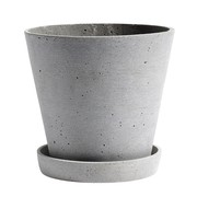HAY - Flowerpot With Saucer XL