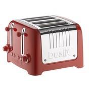 Dualit - Lite Toaster 4-Schlitz - rot
