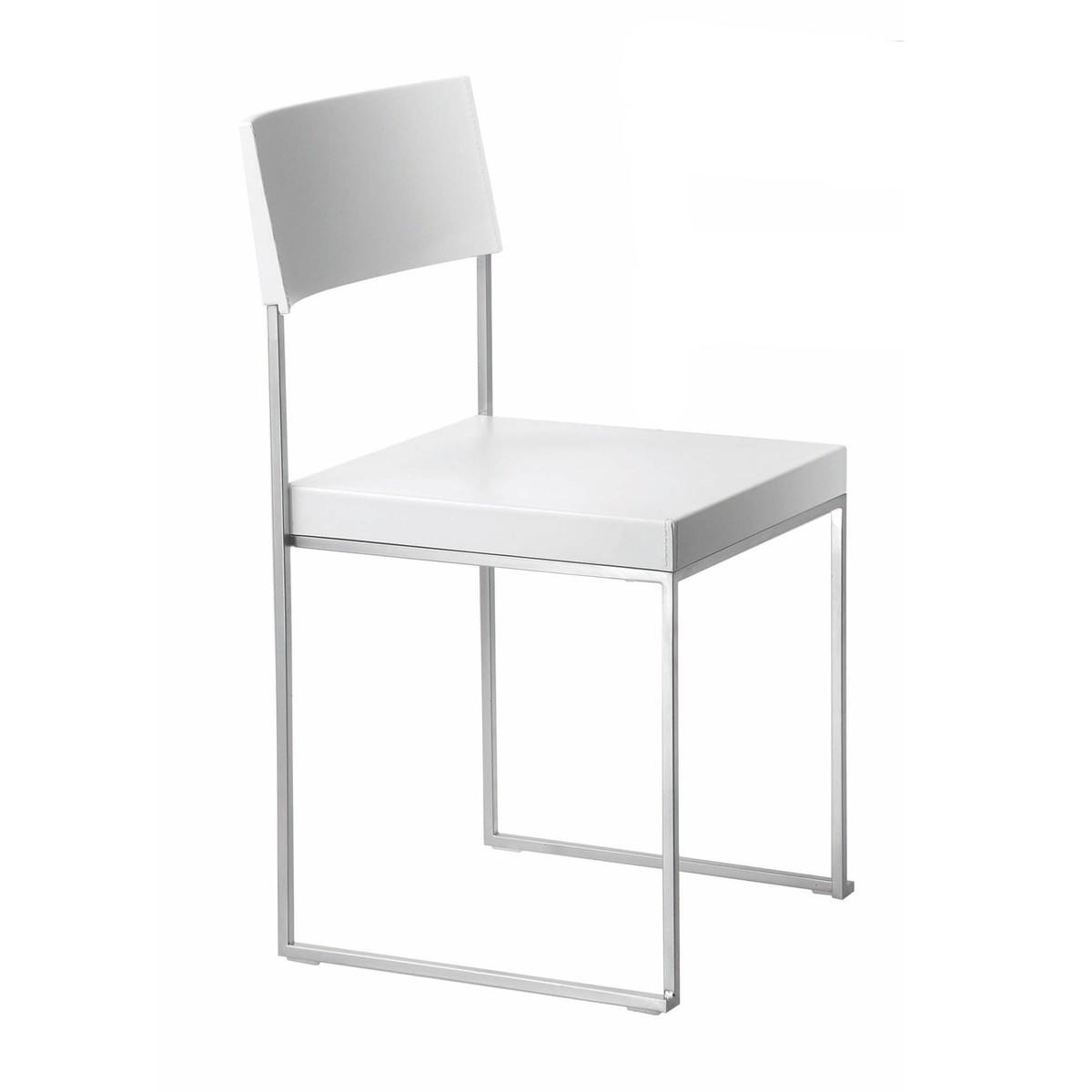 La Palma   Cuba Stuhl Stapelbar   Weiß/lackiert