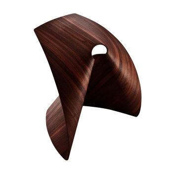 la palma - AP Hocker - eiche dunkel nussbaum gebeizt/47x50x37cm