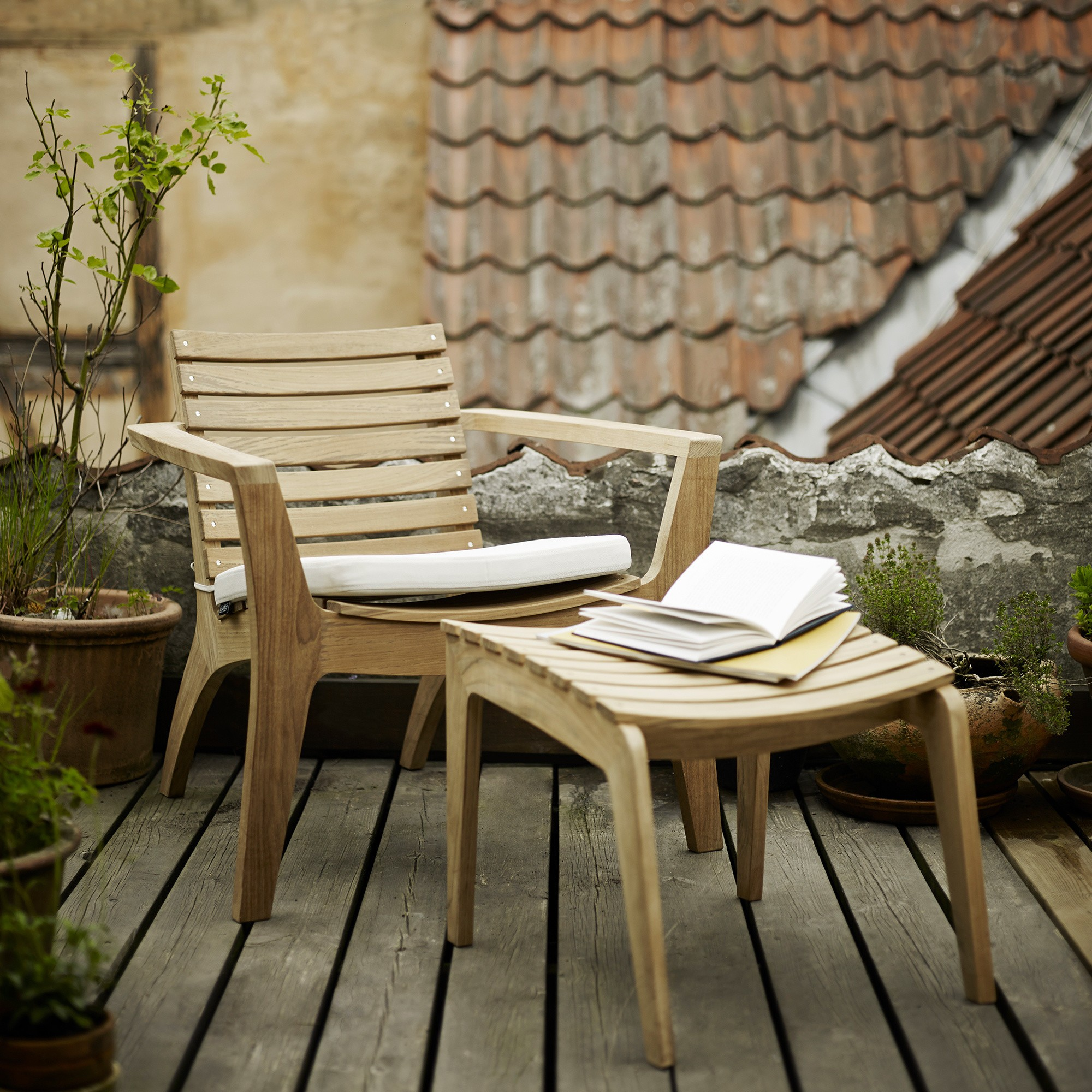 Skagerak Regatta Lounge Garden Chair
