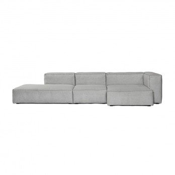 HAY   Mags Soft Lounge Sofa Armrest Right   Light Grey/sofa ...