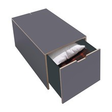 Müller Small Living - Klassik - Bois de lit 16 avec tiroir