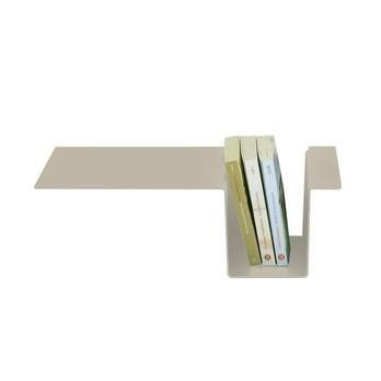 Moormann - Siebenschläfer Seitenablage - steingrau/pulverbeschichtet/zum einhängen