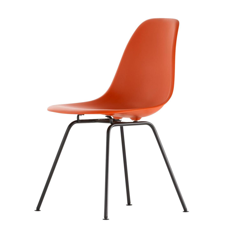 eames plastic chair dsx gestell schwarz h43cm vitra. Black Bedroom Furniture Sets. Home Design Ideas