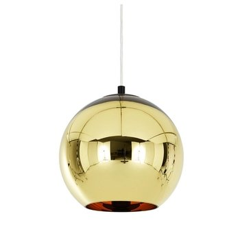 Tom Dixon - Copper Shade Pendelleuchte - bronze/glänzend/Ø 25cm