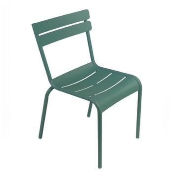 Fermob - Luxembourg Gartenstuhl stapelbar - zederngrün/lackiert