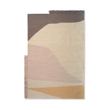 ferm LIVING - Tapis Kelim Earth