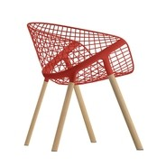 Alias - Fauteuil structure chêne Kobi Chair 041