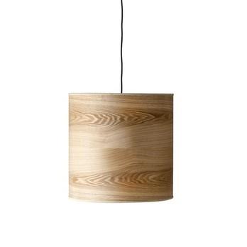 Bloomingville - Woody Pendelleuchte - natur/Ø 43cm x H 43 cm