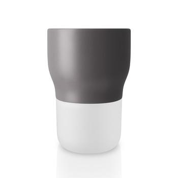 - Eva Solo Nordic Blumentopf Ø11cm - nordisch grau/selbstbewässernd/H 15.8cm