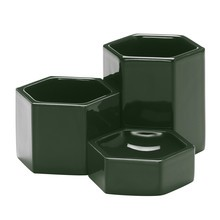 Vitra - Set de 3 recipientes Hexagonal