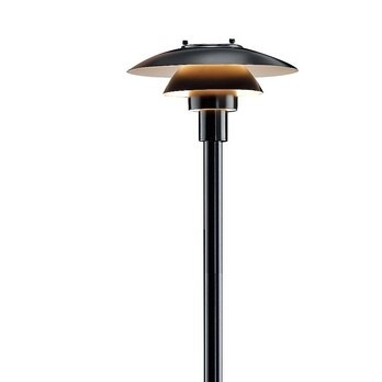 Louis Poulsen - PH 3- 2 1/2 Outdoor Lamp - black