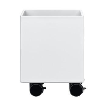 Montana - Play Aufbewahrungsbox mit Rollen - new white 101/lackiert/45 x 35,4 x 35,4 cm