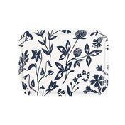 Artek - Niittykukka-Wiesenblume Tablett 27x20cm - weiß/blau/27x20 cm