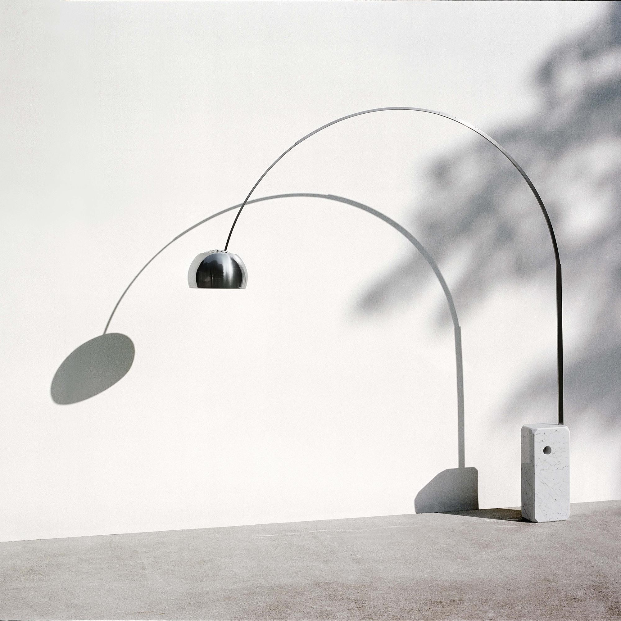 Flos Arco LED Floor Lamp | AmbienteDirect