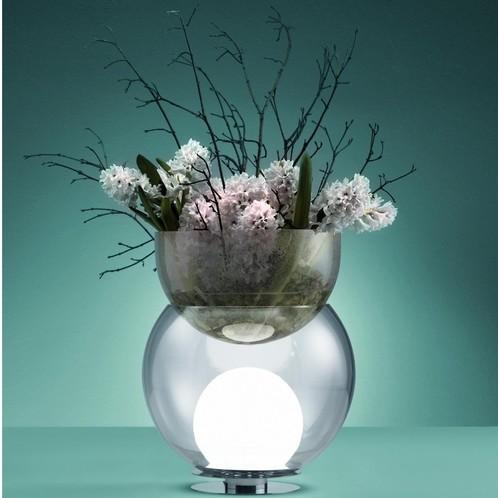 Fontana Arte - Giova Tischleuchte mit Blumenvase