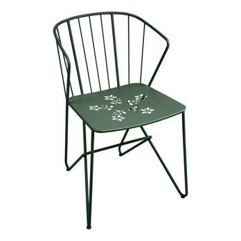 accoudoirs perforé Chaise Flower avec jardin de zMSUpV