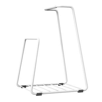 Röshults - Log Wood Basket - white/LxWxH 32x25x51cm