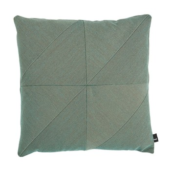 HAY - Puzzle Cushion Pure Sofakissen 50x50cm - aqua aquamarin/Stoff Steelcut Trio 845