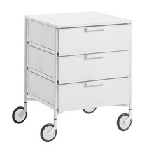 Kartell - Mobil 3 Container with wheels matt