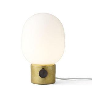 Menu - JWDA Metallic Lamp - Lampe de Table - laiton/poli/H 29cm, Ø 17cm
