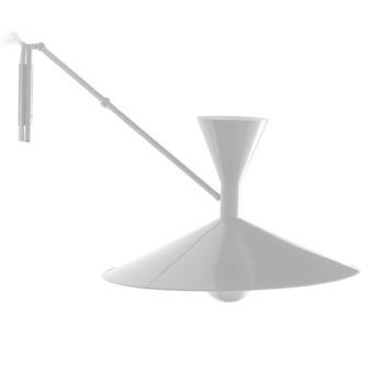 Nemo - Lampe de Marseille Wandleuchte - kalk weiß/matt/LxH 166x80cm/ohne Leuchtmittel
