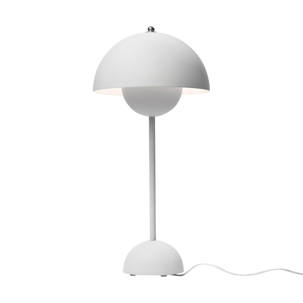 Flower pot vp3 table lamp andtradition ambientedirect andtradition flower pot vp3 table lamp light greymatth50 x 23cm geotapseo Choice Image
