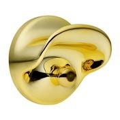 Kartell - Kartell Kleiderhaken-Set 2tlg. - gold/Ø10.5cm