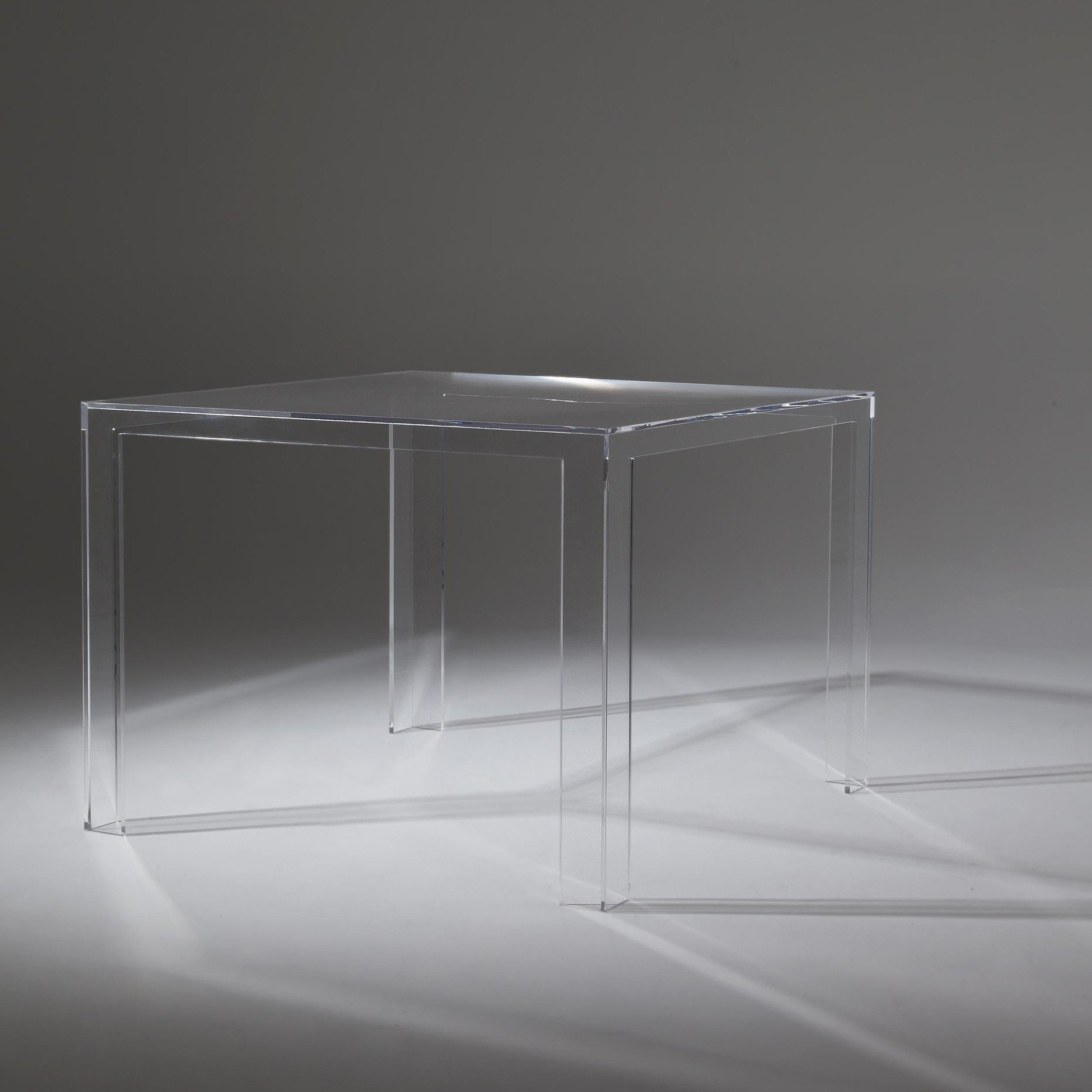 Kartell Invisible Table AmbienteDirect - Kartell invisible coffee table