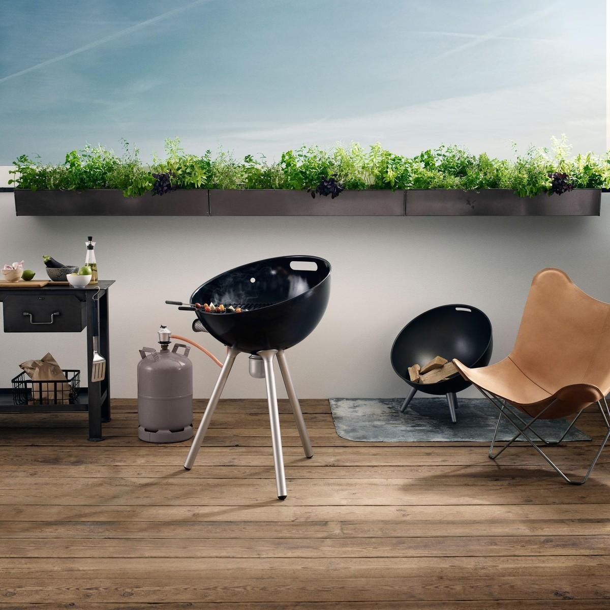 eva solo fireglobe gas grill eva solo. Black Bedroom Furniture Sets. Home Design Ideas