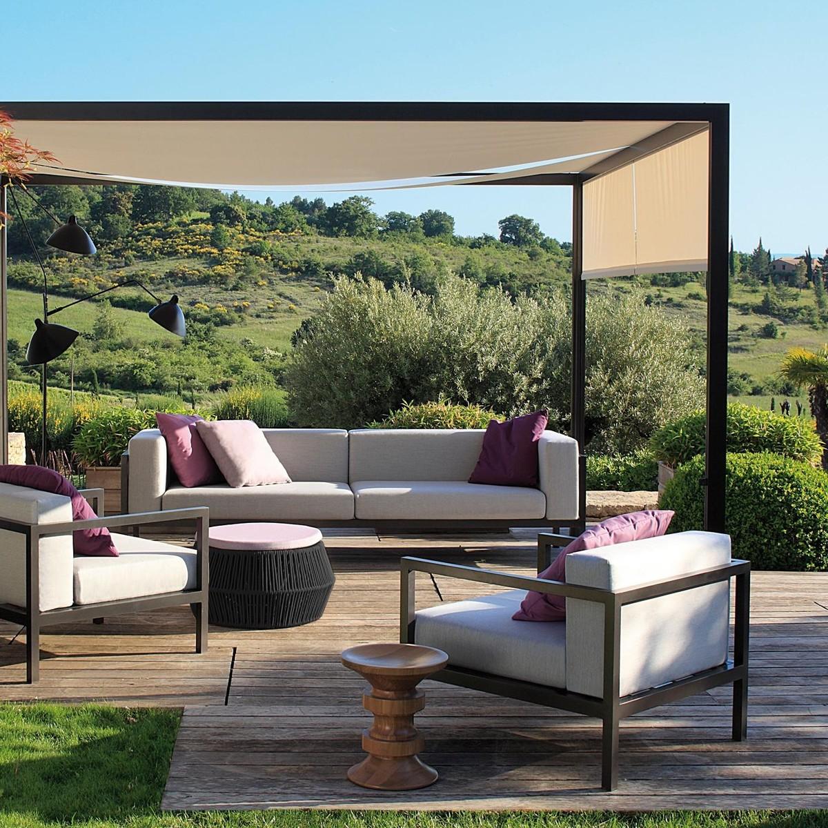 landscape sofa garden sofa 2 seater xl kettal. Black Bedroom Furniture Sets. Home Design Ideas